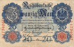 Germany, 20 Mark, P-0040b