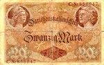 Germany, 20 Mark, P-0048a
