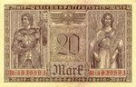 Germany, 20 Mark, P-0057
