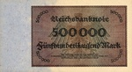 Germany, 500,000 Mark, P-0088b