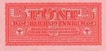 Germany, 5 Reichspfennig, M-0033