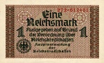 Germany, 1 Reichsmark, R-0136a