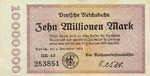Germany, 10,000,000 Mark, S-1014 HR-12