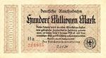 Germany, 100,000,000 Mark, S-1017a Ha