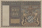 German States, 100 Mark, S-0923