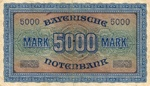 German States, 5,000 Mark, S-0925