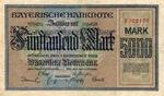 German States, 5,000 Mark, S-0925