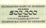 German States, 500,000 Mark, S-0961