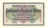 German States, 500,000 Mark, S-0961