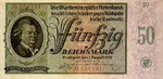 German States, 50 Reichsmark, S-0998