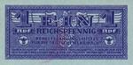 Greece, 1 Reichspfennig, M-0019