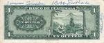 Guatemala, 1 Quetzal, P-0043 v3,P-0043c