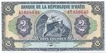 Haiti, 2 Gourde, P-0245A Sign.2