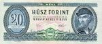 Hungary, 20 Forint, P-0169f