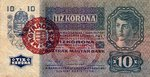 Hungary, 10 Korona, P-0019