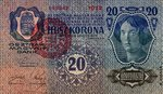 Hungary, 20 Korona, P-0021