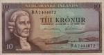 Iceland, 10 Krona, P-0042 Sign.2
