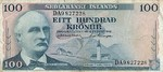 Iceland, 100 Krona, P-0044a Sign.2