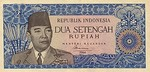 Indonesia, 2.5 Rupiah, P-0081b