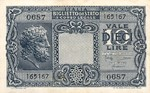 Italy, 10 Lira, P-0032c