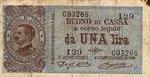 Italy, 1 Lira, P-0036a