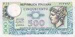 Italy, 500 Lira, P-0095