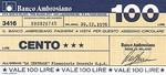 Italy, 100 Lira,