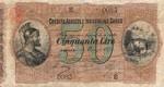 Italian States, 50 Lira, S-0927