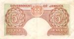 Jamaica, 5 Shilling, P-0037aV6