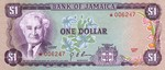 Jamaica, 1 Dollar, CS-0002