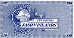 Jason Islands, 10 Pound,