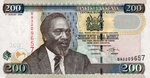 Kenya, 200 Shilling, P-0043b