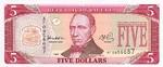 Liberia, 5 Dollar, P-0021