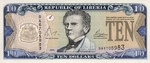 Liberia, 10 Dollar, P-0027b