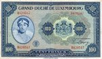 Luxembourg, 100 Franc, P-0047a