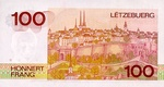 Luxembourg, 100 Franc, P-0057a Sign.2