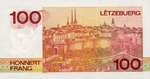 Luxembourg, 100 Franc, P-0058a