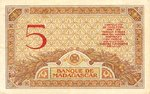 Madagascar, 5 Franc, P-0035 Sign.1