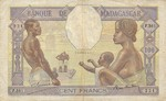 Madagascar, 100 Franc, P-0040 Sign.2