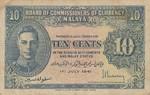 Malaya, 10 Cent, P-0008x