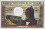 Mali, 1,000 Franc, P-0013d