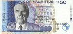 Mauritius, 50 Rupee, P-0043