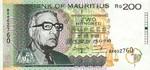 Mauritius, 200 Rupee, P-0045