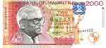Mauritius, 2,000 Rupee, P-0048
