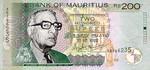 Mauritius, 200 Rupee, P-0052a
