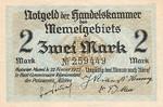 Memel, 2 Mark, P-0003