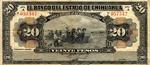 Mexico, 20 Peso, S-0134aNew