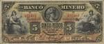 Mexico, 5 Peso, S-0163Ah