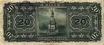 Mexico, 20 Peso, S-0259d