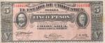 Mexico, 5 Peso, S-0532a